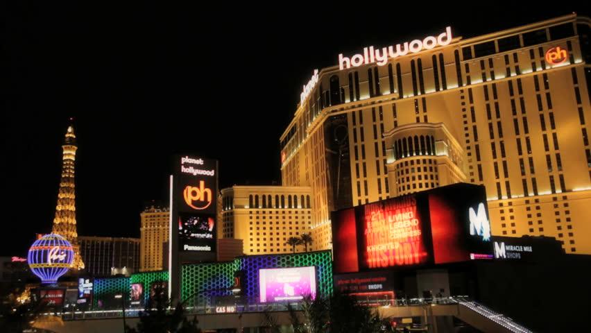 Las Vegas Circa 2010 The Strip In