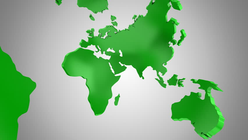 Stock video of world map turns into a globe 23118100 shutterstock 4k0045world map turns into a globe a look inside gray background 2 in 1 loop 151 450 frames alpha matte created in 4k 3d animation gumiabroncs Gallery