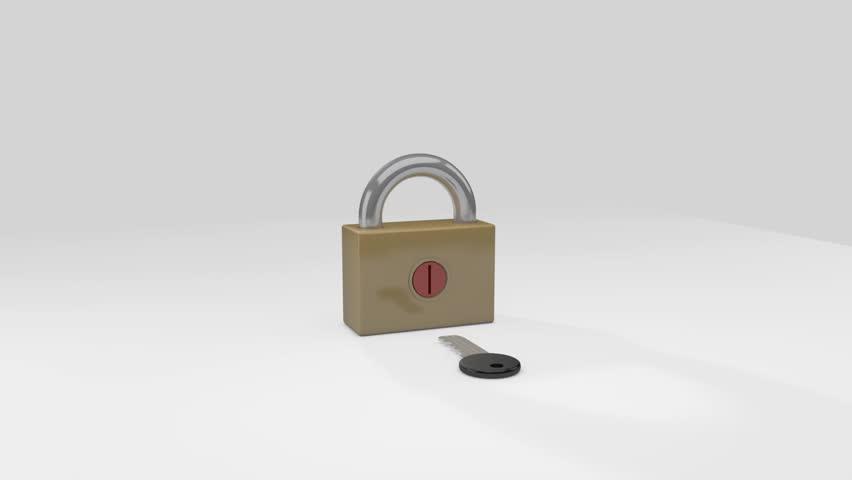 Header of padlock