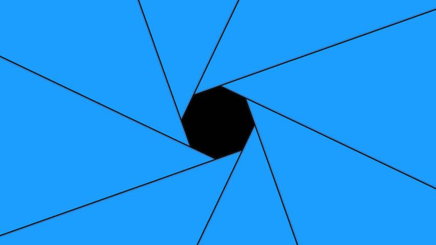 animation camera aperture with an alpha channel