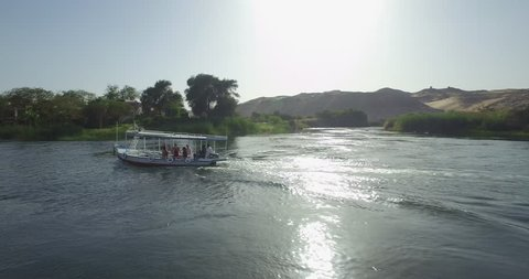 Aswan Nile river by boat 3.