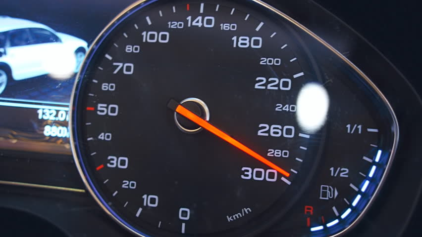 Stock video na téma Car Speedometer Needle is Approaching (100% bez  autorských poplatků) 23581171 | Shutterstock