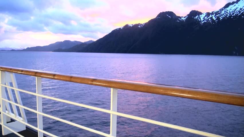 Boat deck railing Footage