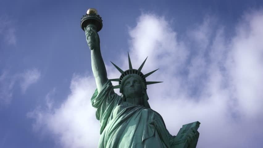 Statue of Liberty in rain - New York City | Shutterstock HD Video #23642311