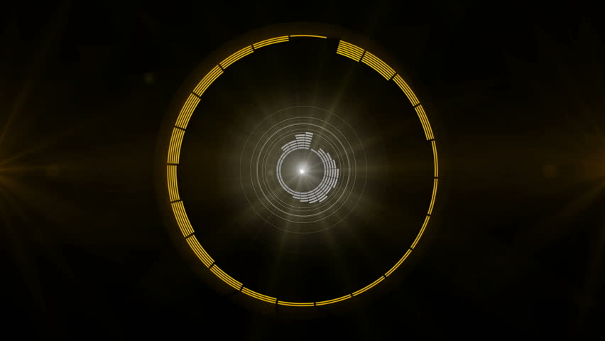 Circle rotation Equalizer bar frequency 4K | Shutterstock HD Video #23643952