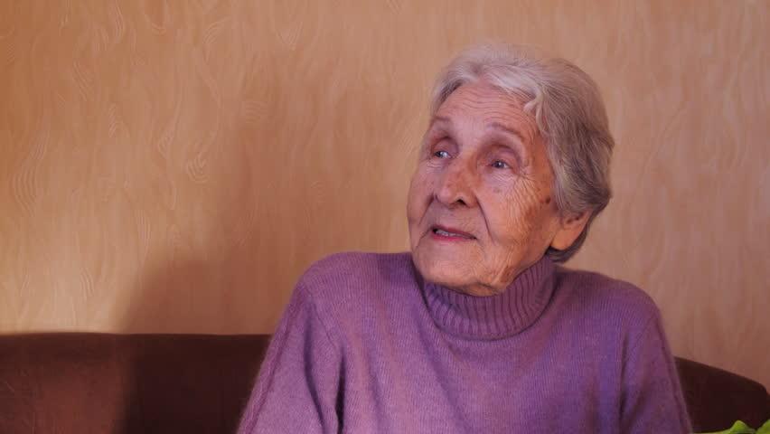 Portrait of elderly woman.   Shutterstock HD Video #23679391
