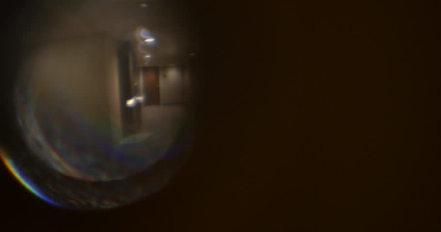 4k0017Spy Peephole on Door at Hotel Looking at Elevator Hallway POV 4K & Stock video of spy peephole in door at hotel | 4294520 | Shutterstock
