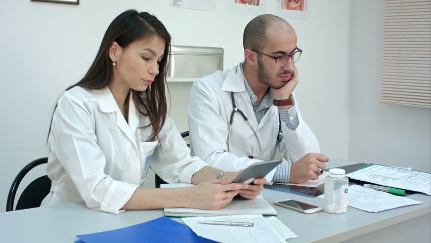 Everyday routine of medical workers in the office | Shutterstock HD Video #23816791