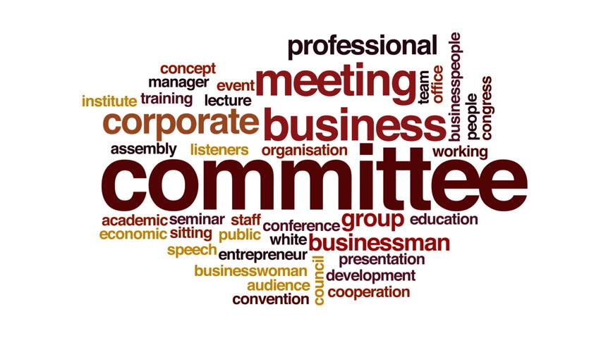 Header of committee