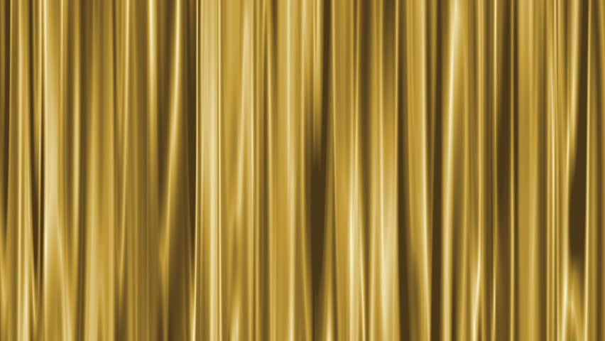 smooth gold background loop smokey curtain stock footage With gold curtains background