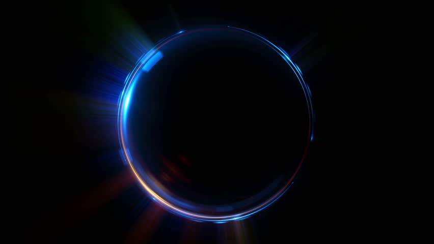 Abstract neon background. luminous swirling. Glowing spiral cover.  Black elegant. Halo around. Power isolated. Sparks particle. Space tunnel. LED color ellipse. Glint glitter. Shimmer loop motion