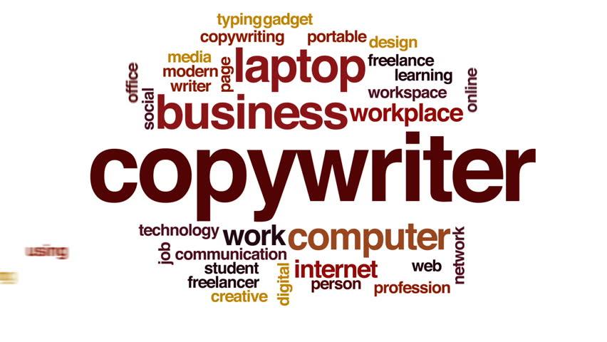 Header of copywriter