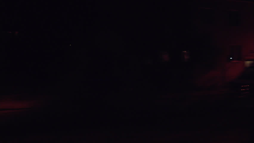A car in the night