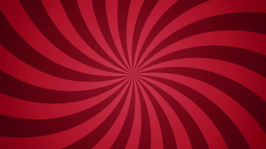Abstract background with rotation of hypnotic spiral. Animation of seamless loop.