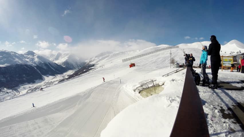 Nice Italian Mountains Time lapse | Shutterstock HD Video #24544121