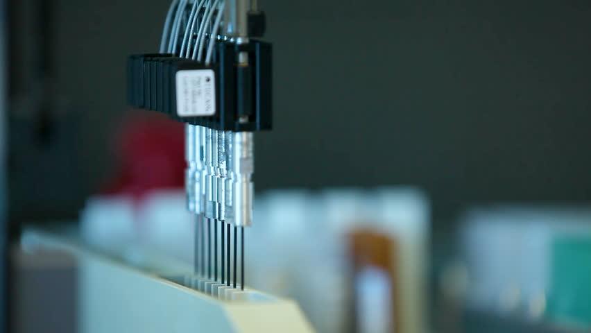 Automated laboratory machine  | Shutterstock HD Video #24552821