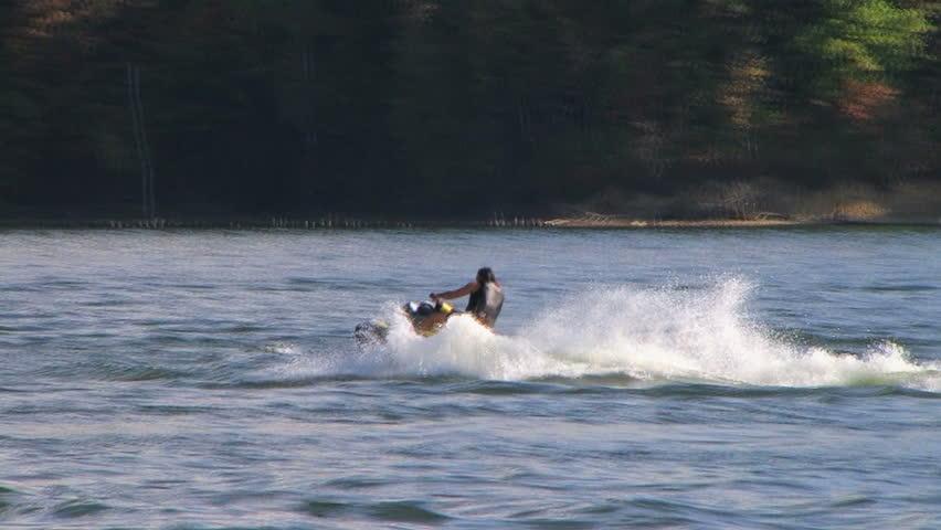 Waverunner on Lake