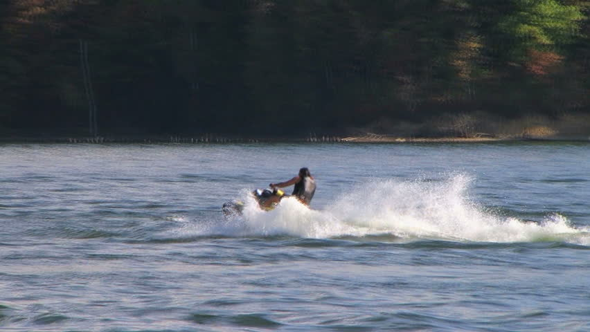 Waverunner on Lake