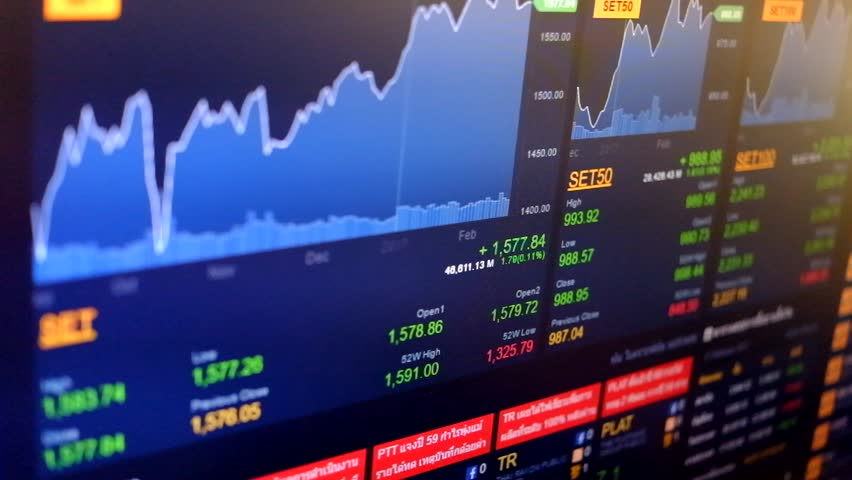 Stock Exchange Board Background | Shutterstock HD Video #24751454