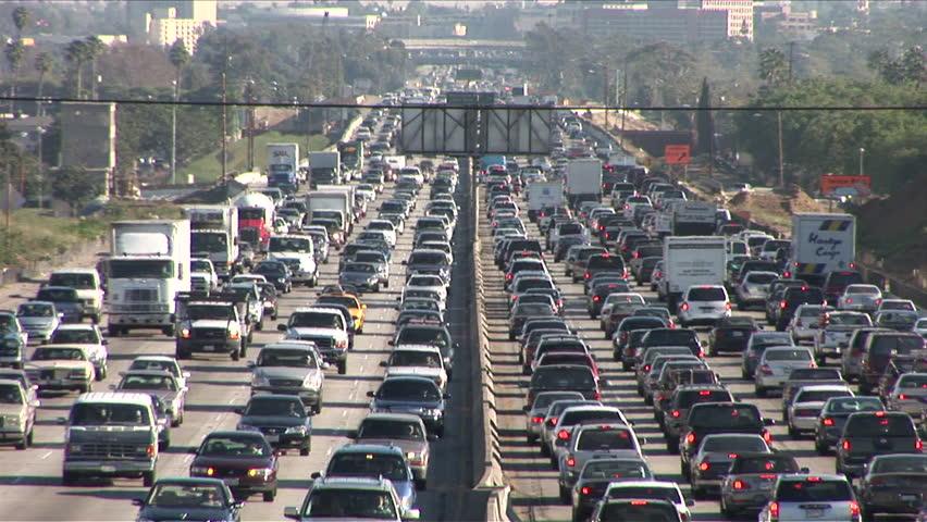 Image result for ferrari in LA traffic