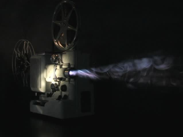 Stock video of projector in smokey atmosphere | 24811 ...