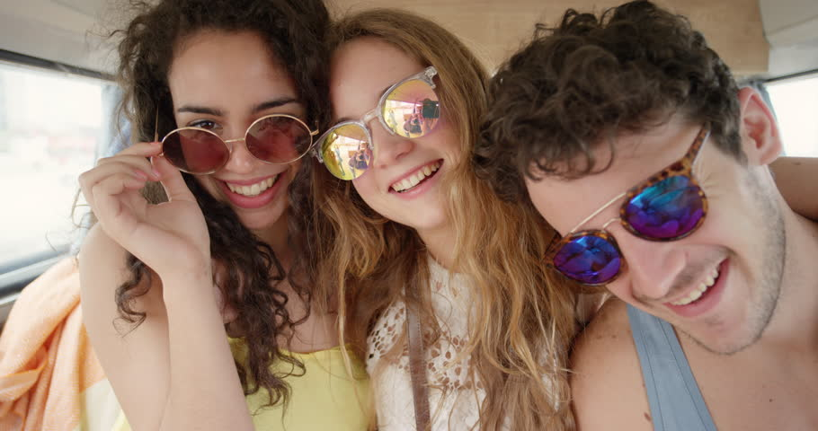 Webcam girls roadtrip party