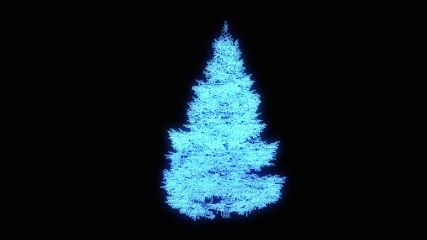 Christmas Decoration Glass Tree With Electric Lights