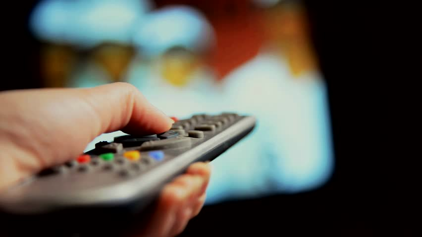 The remote control for the TV. | Shutterstock HD Video #25112261