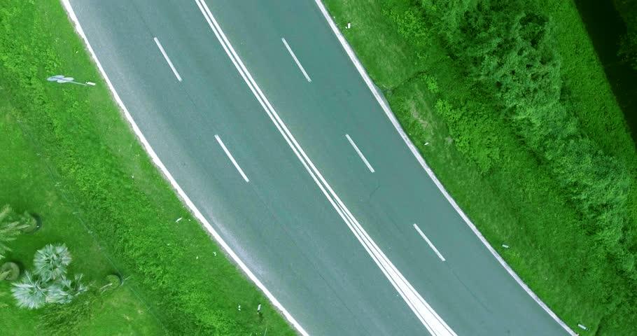 Cars On Line >> Trucks along sidewalk Footage | Stock Clips