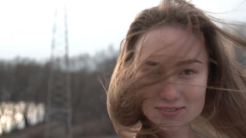 Portrait of Attractive Smiling Caucasian Ethnicity Woman in Urban Environment.   Shutterstock HD Video #25193591