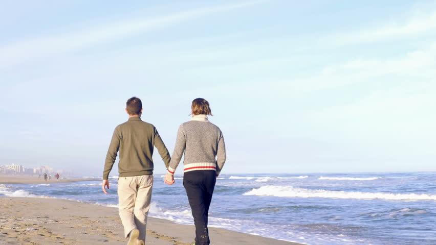 Gay beach video