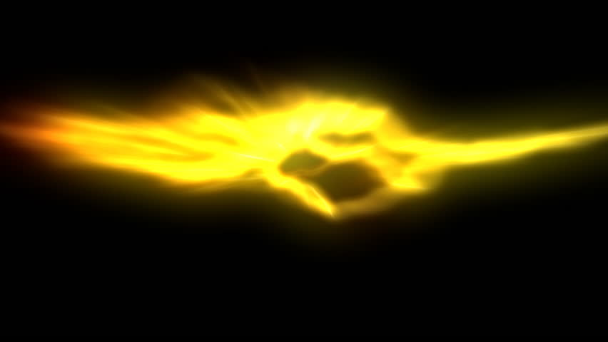 Yellow Lighting Flame On Black Stock Footage Video 100 Royalty Free 2549141 Shutterstock