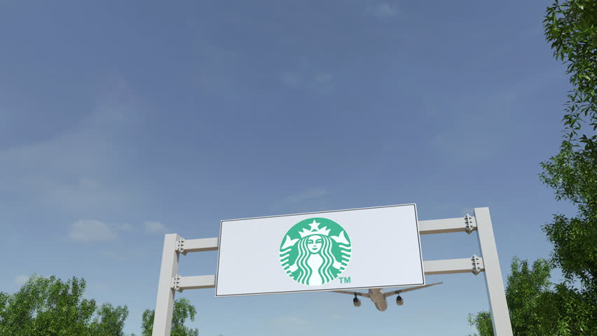 Airplane Flying Over Advertising Billboard Stock Footage Video 100 Royalty Free 25667441 Shutterstock
