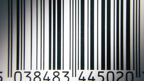 Macro shots of many barcodes in a stop motion sequence, with a slow zoom in movement.