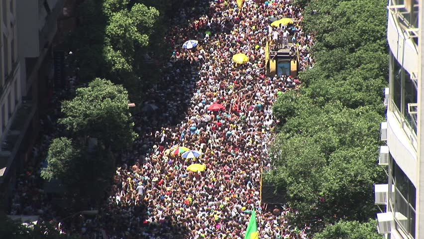 View From Above - Rio's Street Carnival