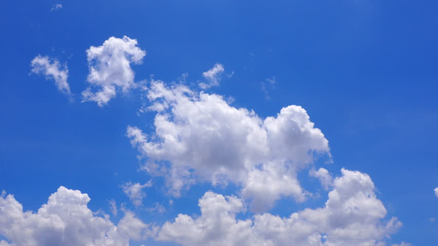 HD - Timelapse clouds and blue sky #25837931