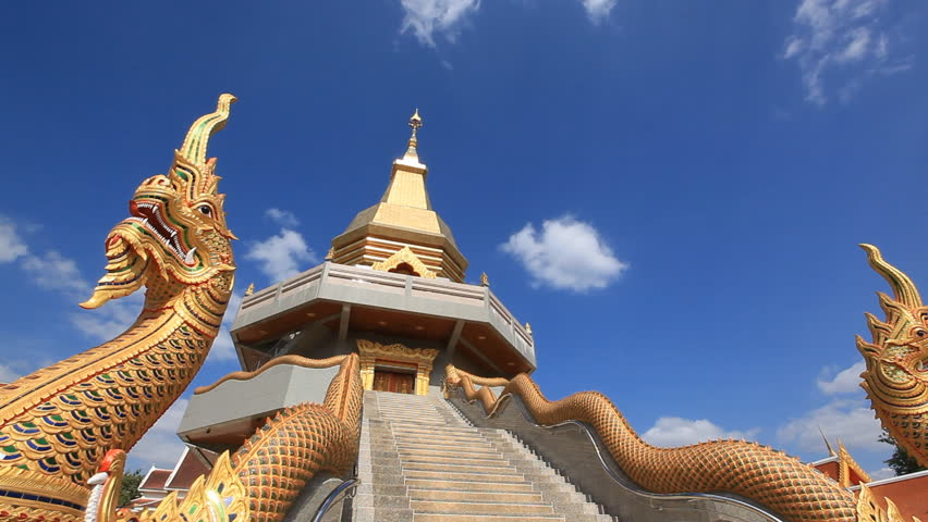 The beauty of Thai temples in Udonthani,Thailand