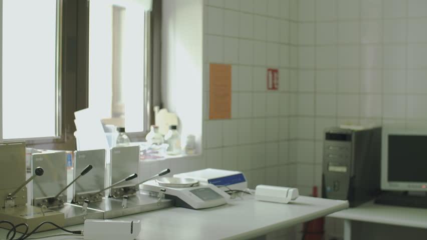 Nurse handles blood bags at blood transfusion center | Shutterstock HD Video #26146901
