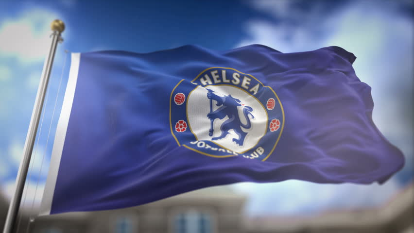 Close up of waving flag with manchester city fc football club brisbane australia april 24 2017 chelsea fc flag waving slow motion 3d voltagebd Image collections