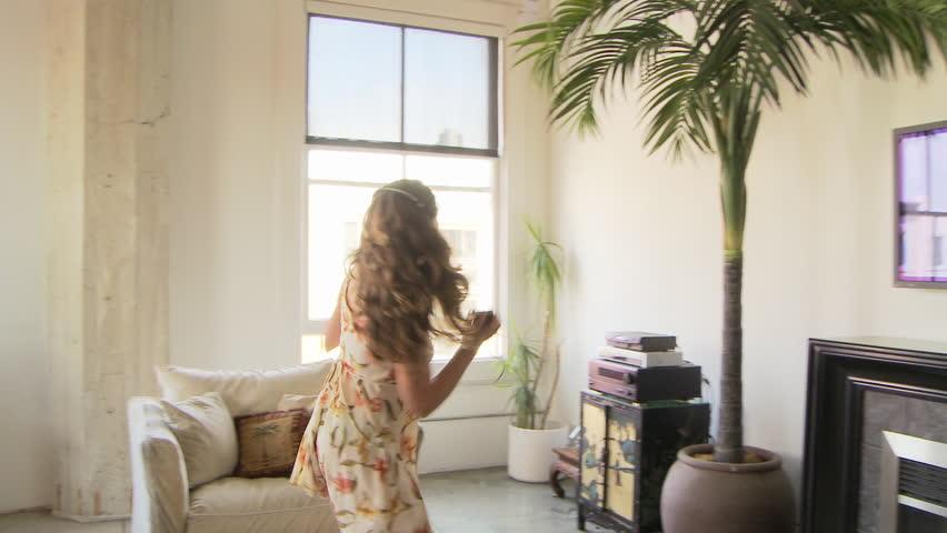 Woman dancing | Shutterstock HD Video #2615741