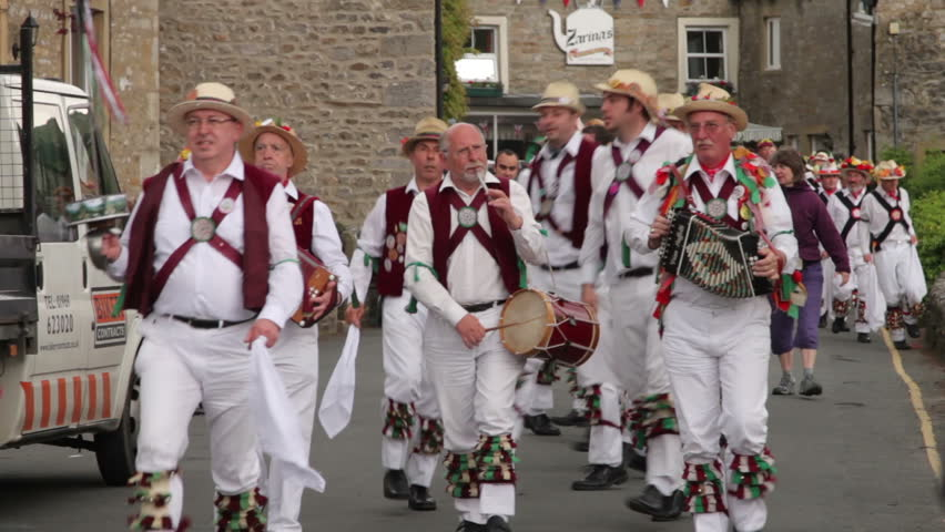 Stock Video Clip Of KETTLEWELL YORKSHIREx2FENGLAND