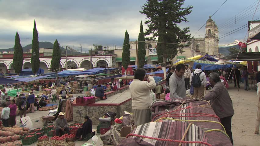 MEXICO CITY - CIRCA 2010: View of Open Air Market in Mexico 2