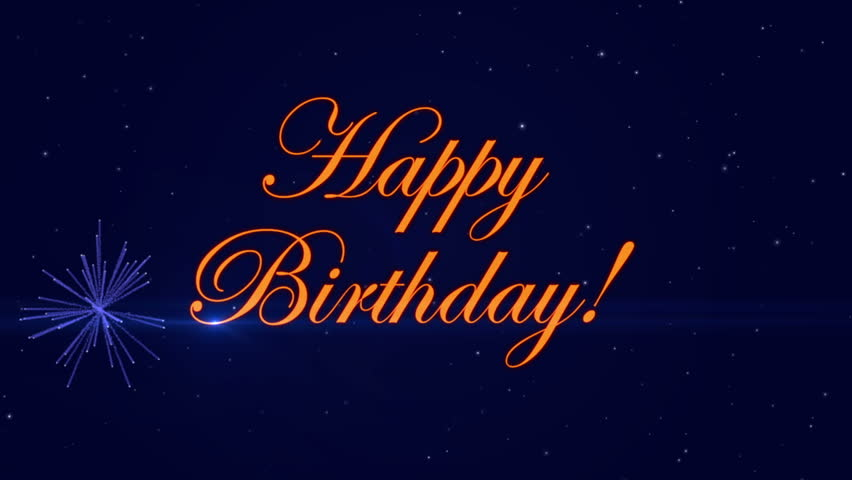 Footage Happy Birthday with a Stock Footage Video (100% Royalty-free)  26331671 | Shutterstock