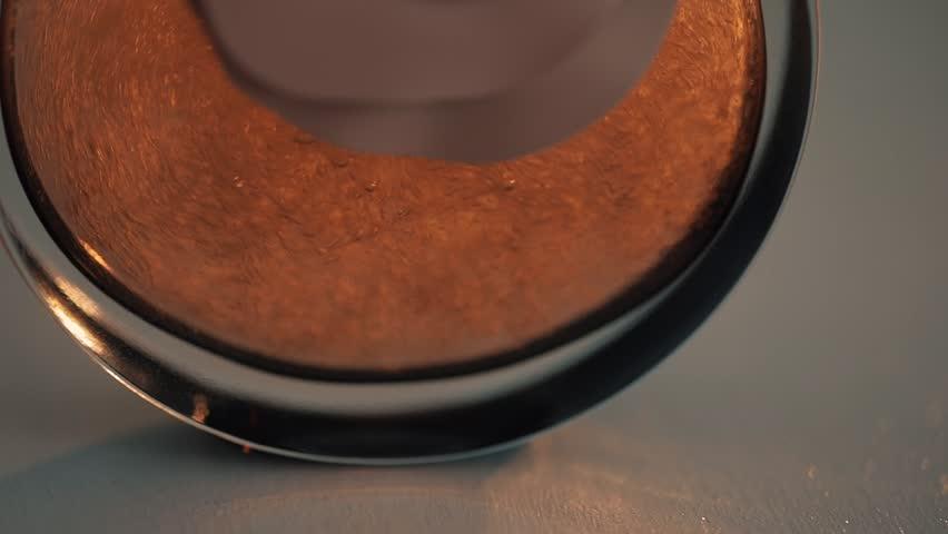 Bubbles in perfume. Slow motion in four times | Shutterstock HD Video #26426369