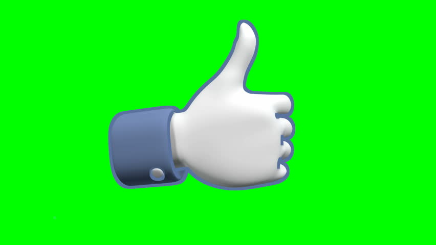 Thumbs up and thumbs down signs on green screen | Shutterstock HD Video #2644571