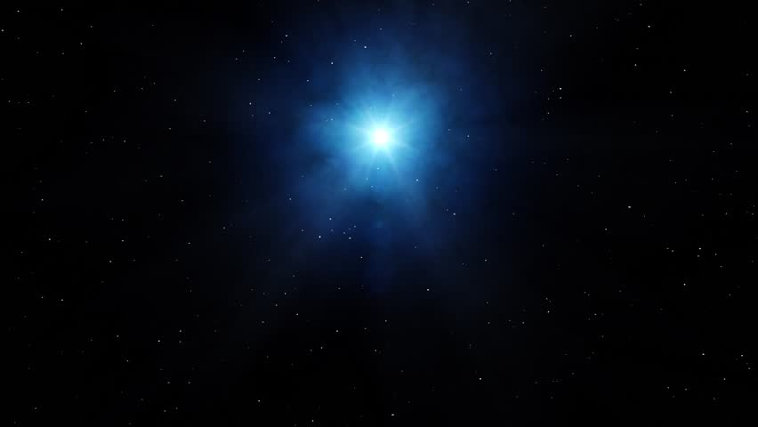 realistic deep space with star and space smog #26452181
