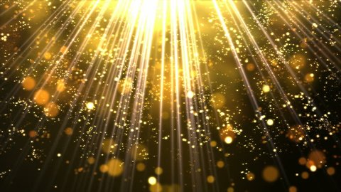 Shining Lights and Particles - Loop Golden
