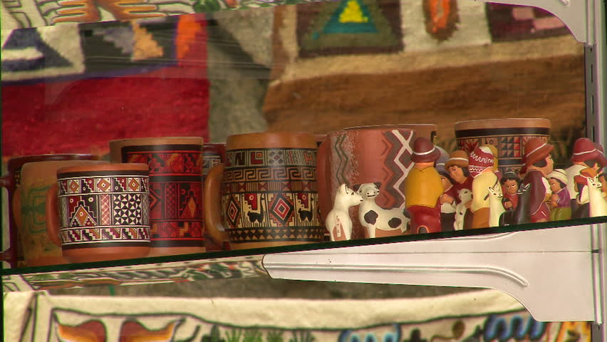 Handicrafts From Peru Stock Footage Video 100 Royalty Free