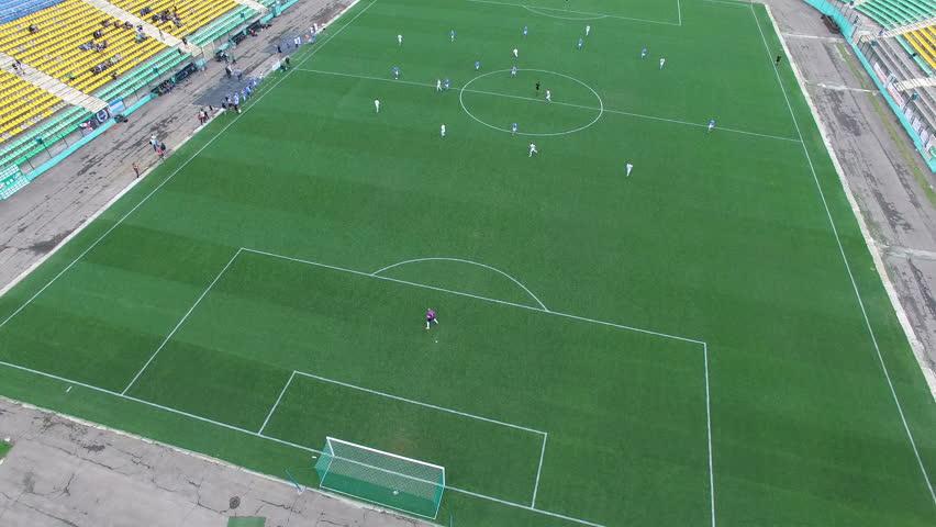 Aerial football match play   Shutterstock HD Video #26593181