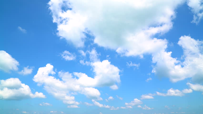 The Clear Sky with a Stock Footage Video (100% Royalty ...